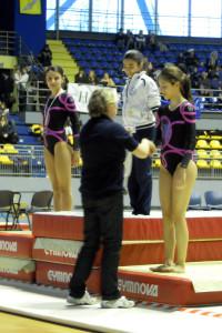 Chiara Andreetta, II VOLTEGGIO; Martna Perlo, III