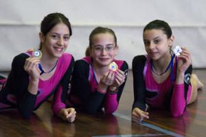 VOLTEGGIO. Chiara Carena 1'; Chiara Andreetta 2'; Martina Perlo 3'.