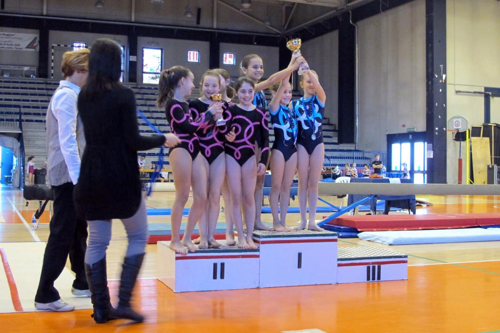 IMG_1307 II classificate assoluta. Marta Nota, Sara Serratore, Alice Manfredi, Federica Contieri