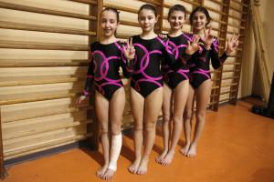 Sofia Bongioanni, Chiara Demilito; Alessia Bassignana, Carolina Arba. III ASSOLUTA a squadre